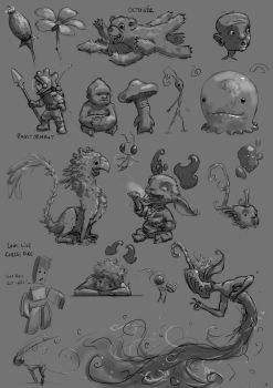 A Night In Sketching 004 by AndrewMcIntoshArt