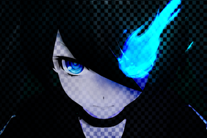 MMD- BLACK ROCK SHOOTER by Garrys-Butt