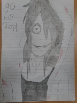 Jeff the Killer bloodly by LukeAsh