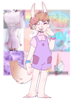   Pastels and stars   -CM- by Tesspy