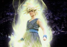 Gohan (Cell Games) - Dragon Ball Z by NomesCosplay