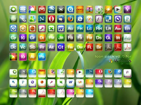 Windows Icons V2 by SaviourMachine