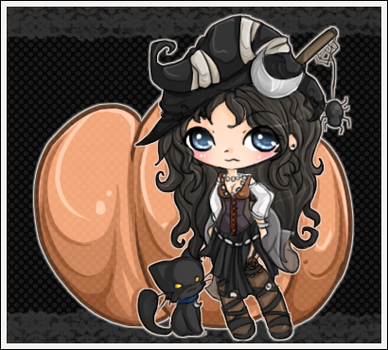 halloween witch by linkitty