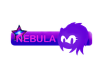 Gift: Nebula button by AnnaDaWolf14