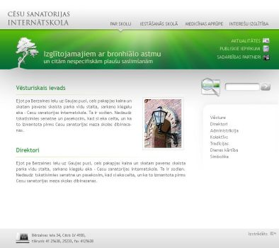 School web site by Indriks