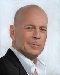 My favorite Bruce Willis. I adore him! by Lizapoly