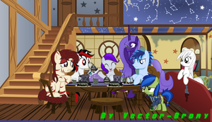 Glory's cooking by Vector-Brony