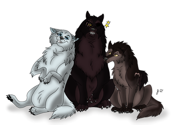 Trade - Canine Pictures - Julma and the Gang by joshbluemacaw