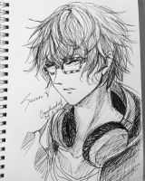 Seven - Mystic Messenger by Cane-the-artist