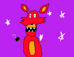 Featuring Foxy the Pirate by FNAFArtCreator
