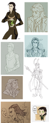 Sketchdump - Thor by nanda16
