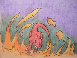 Through The Fire And The Flames We Pokemon! by WindsweptSpirit