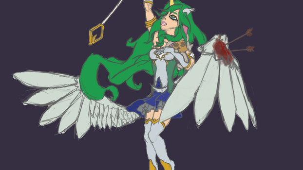 Star Guardian Soraka [Rough Draft] by altimis