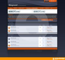 Forum Layout 1 by EnzuDes1gn