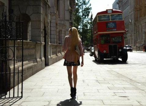 Lily in London ~ by CatRubi