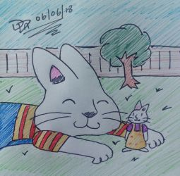 May'18 -  Max and Ruby -CyberFox by Sm-ArtThings