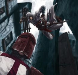 A Templar's End 2.0 by MrHarp