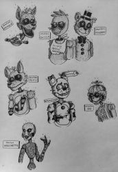 [FNAF] the phantoms by z8-r0