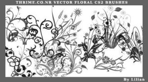 Vector Floral Cs2 by lycheese