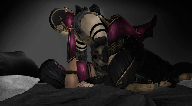 Scorpion x Mileena: The Pain Is My Pleasure by Weskervit789