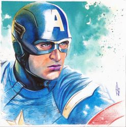 Captain America !!!! by RodGallery