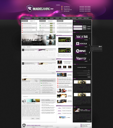 VIOLETLAYOUT - 4sale by maqqwebdesign