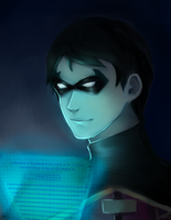 Young Justice: Robin by Mikiku