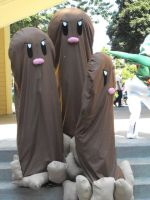Dugtrio Cosplay