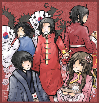 APH: East Asia by Lihery