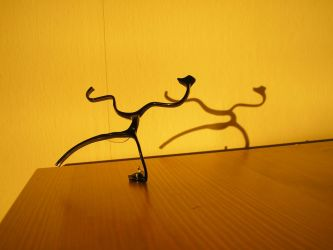 Eyeglass Frame Sculpture 2 by Maluviam