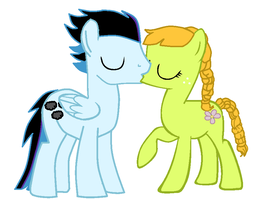 Thunder And Apple Blossom Kiss by DisneyFanatic2364