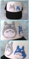 Totoro Hat by ForeverBubbles