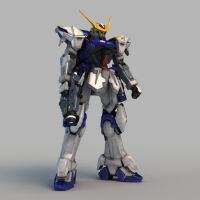 ZGMF-X12 Gundam Astray Out Frame 01 by Ladav01