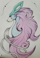 Suicune - Pokemon by JulyShepard1995