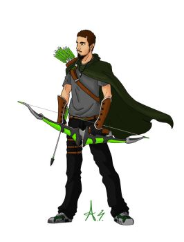 Green Wolf (Francesco) by Moltor214