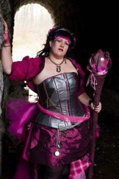 SteamPink Hope - Cosplay for A Cure 3 by Celiaskyleaf