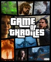 Game of thrones (Grand theft auto style) by LilouFranchise