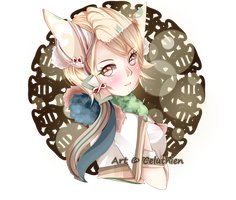 [YCH] Cecilia for Shiyoma by Celuthien