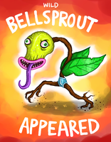 Wild BELLSPROUT appeared