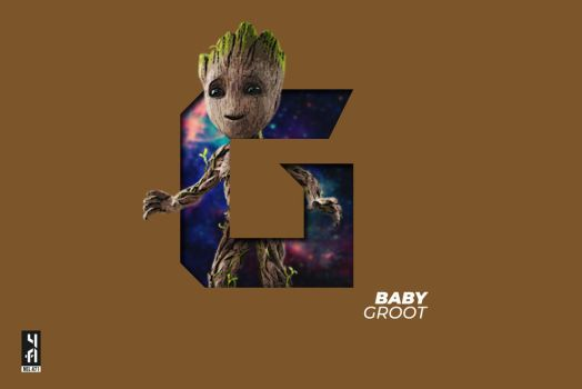 Baby Groot by Nel471