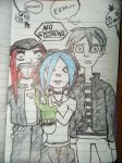 Sera and Friends by TwiztidTiya