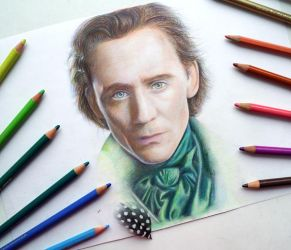 Crimson Peak. WIP( Tom Hiddleston) by Alena-Koshkar