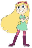 Star vs the Forces of Evil: Star Butterfly: by Koraxes765