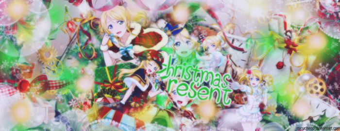 [ Cover Scrapbook ] CHRISTMAS PRESENT by Micucheoo