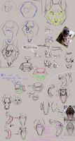 How to draw Snarly Wolves: Advice and Tipps by Remarin