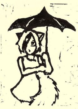 Kitty Umbrella Cut by allee