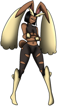 Orine Lopunny by NickyVendetta