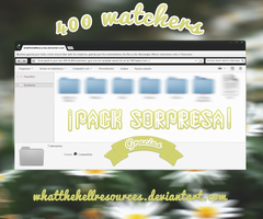 300-400 watchers | PACK | LINK IN THE DESCRIPTION by WhatTheHellResources
