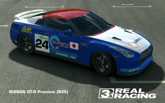 Nissan GT-R [R35] 'R92CP look-a-like' by iceman-05