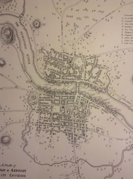 Detail of Map of Arkham Massachusetts 1775 by riq1977